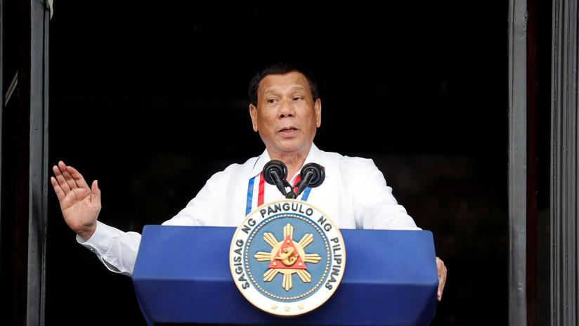 Duterte: Me he peleado hasta con Dios para combatir el narcotráfico