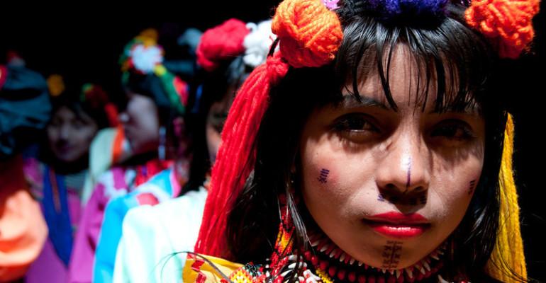 Jornada de solidaridad con indígenas Emberá desplazados (+Video)