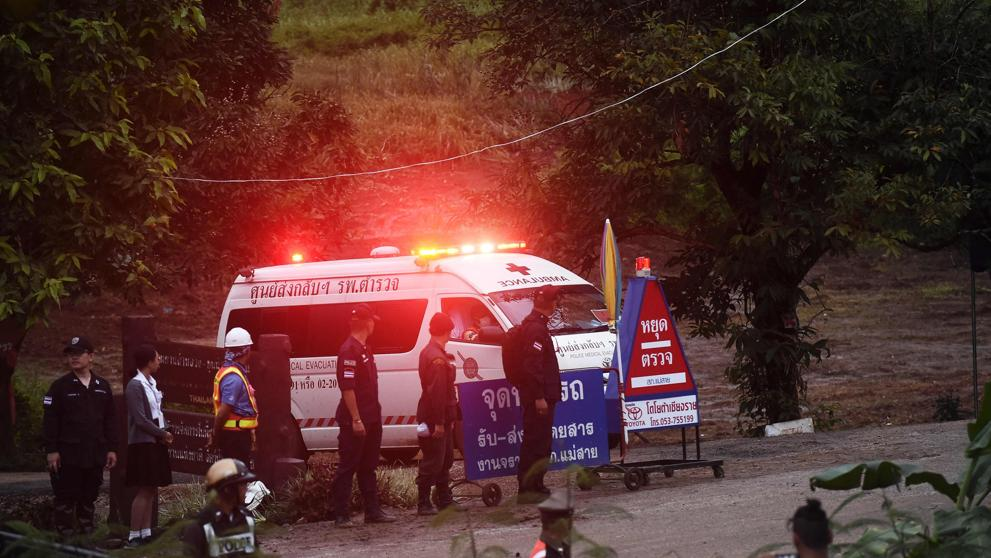 En cuarentena los 8 niños rescatados hasta ahora de la cueva en Tailandia