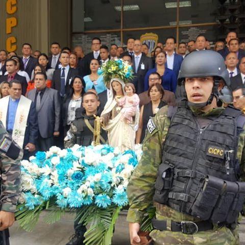 CICPC conmemoró el Día del Policía y Virgen del Carmen