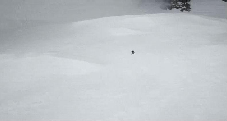 (+Video) Un dron consigue con vida a un escalador al que habían dado por muerto