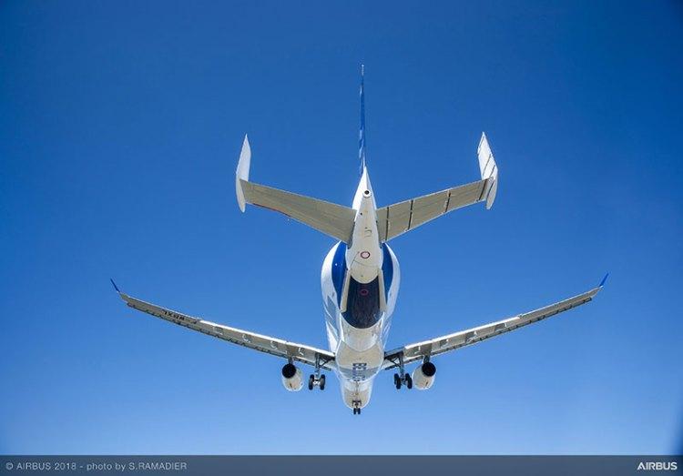Levantó vuelo el avión más feo del mundo: El Beluga XL