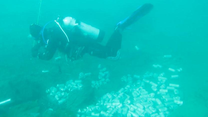 Grupo de buzos prepara nueva limpieza del fondo del lago Llanquihue