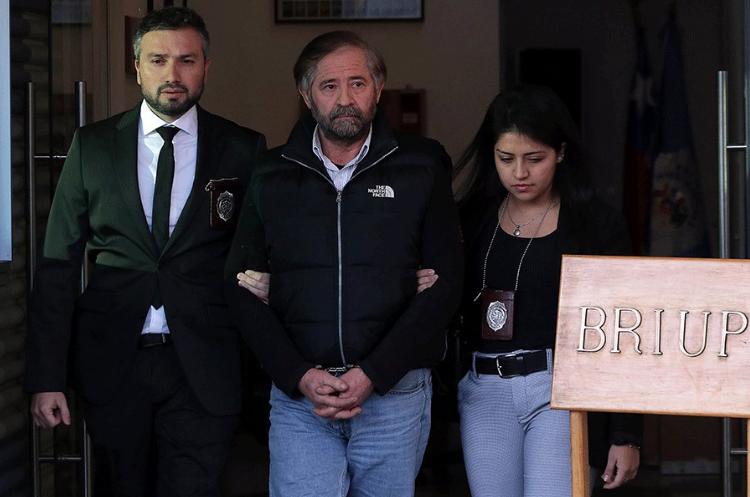 Detienen en Pucón a ex miembro de la CNI prófugo desde el año 2015