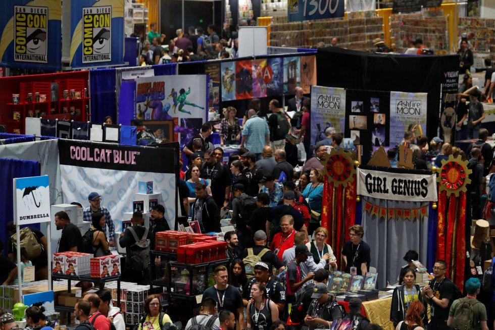 Comic-Con de San Diego arrancó sin superhéroes de Marvel (+FOTOS)