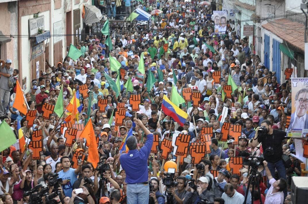 """El partido MAS aboga por la """"reconciliación"""" dentro de la oposición venezolana"""