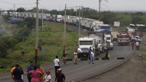 Liberados transportistas secuestrados por opositores en Nicaragua