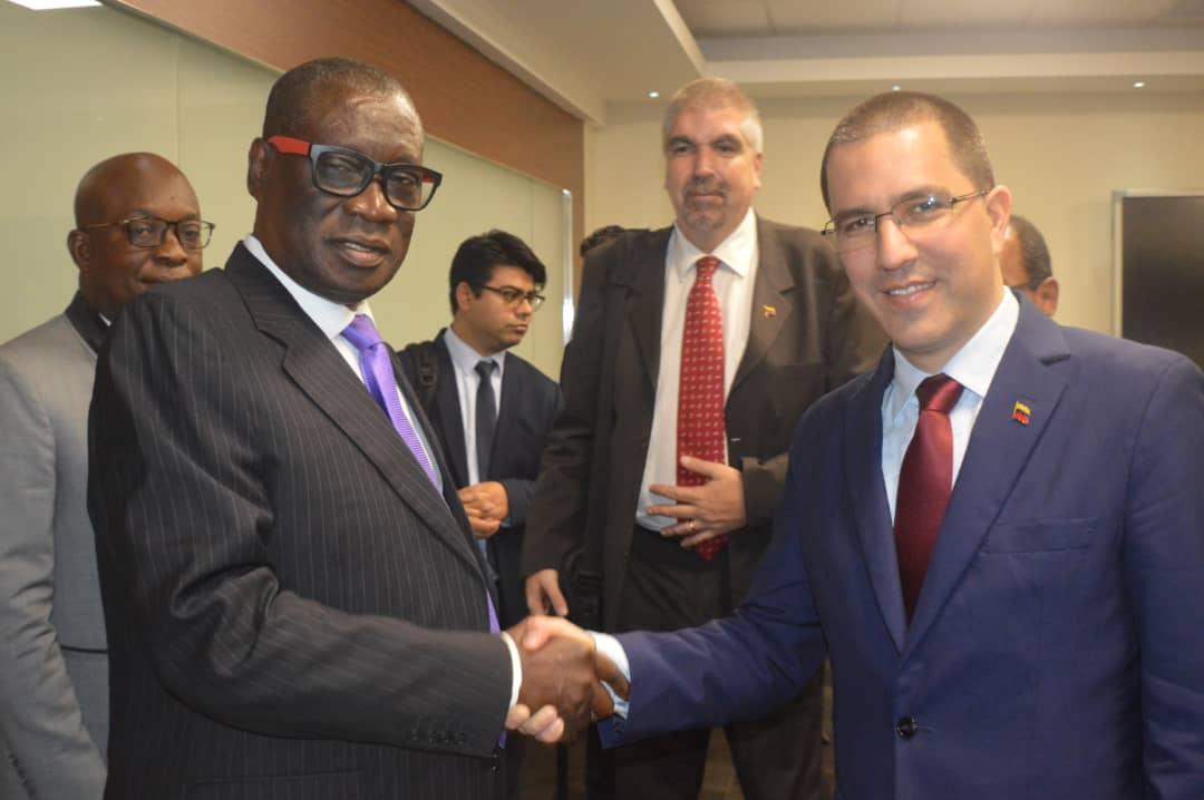 Venezuela y Ghana diseñarán plan de cooperación en el área petrolera