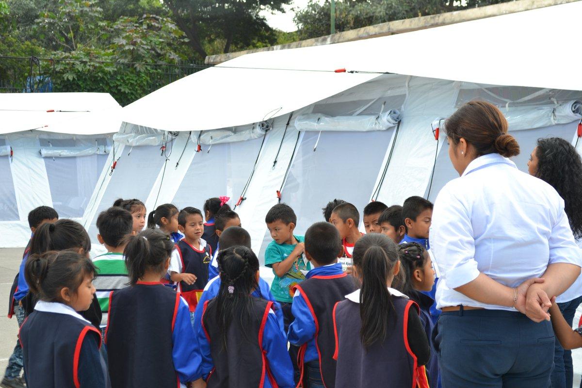 Más de 15 mil niños afectados por el Volcán de Fuego regresaron a clases
