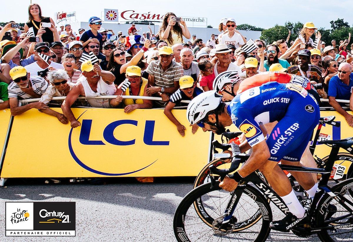 El colombiano Fernando Gaviria ganó la IV etapa del Tour de Francia
