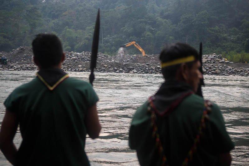 Indígenas ecuatorianos piden la reversión de 20 concesiones mineras