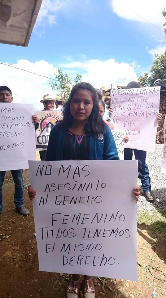 Asesinan lideresa campesina indígena en Guatemala
