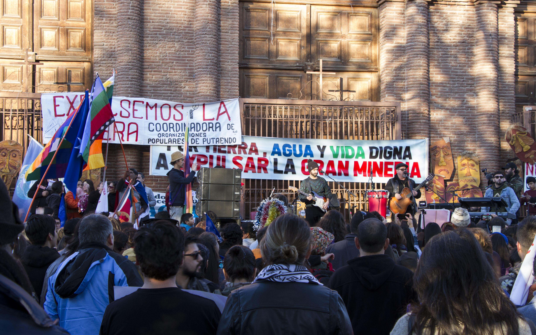 Cientos de familias de Putaendo dijeron 'No a la Gran Minería'