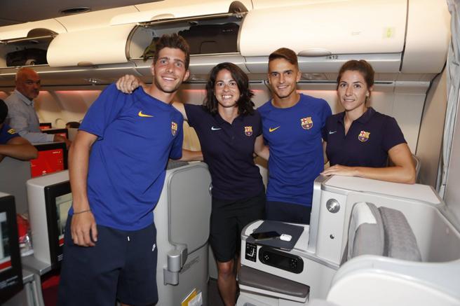 """El Barcelona desató la """"polémica business"""" durante su viaje a Estados Unidos"""