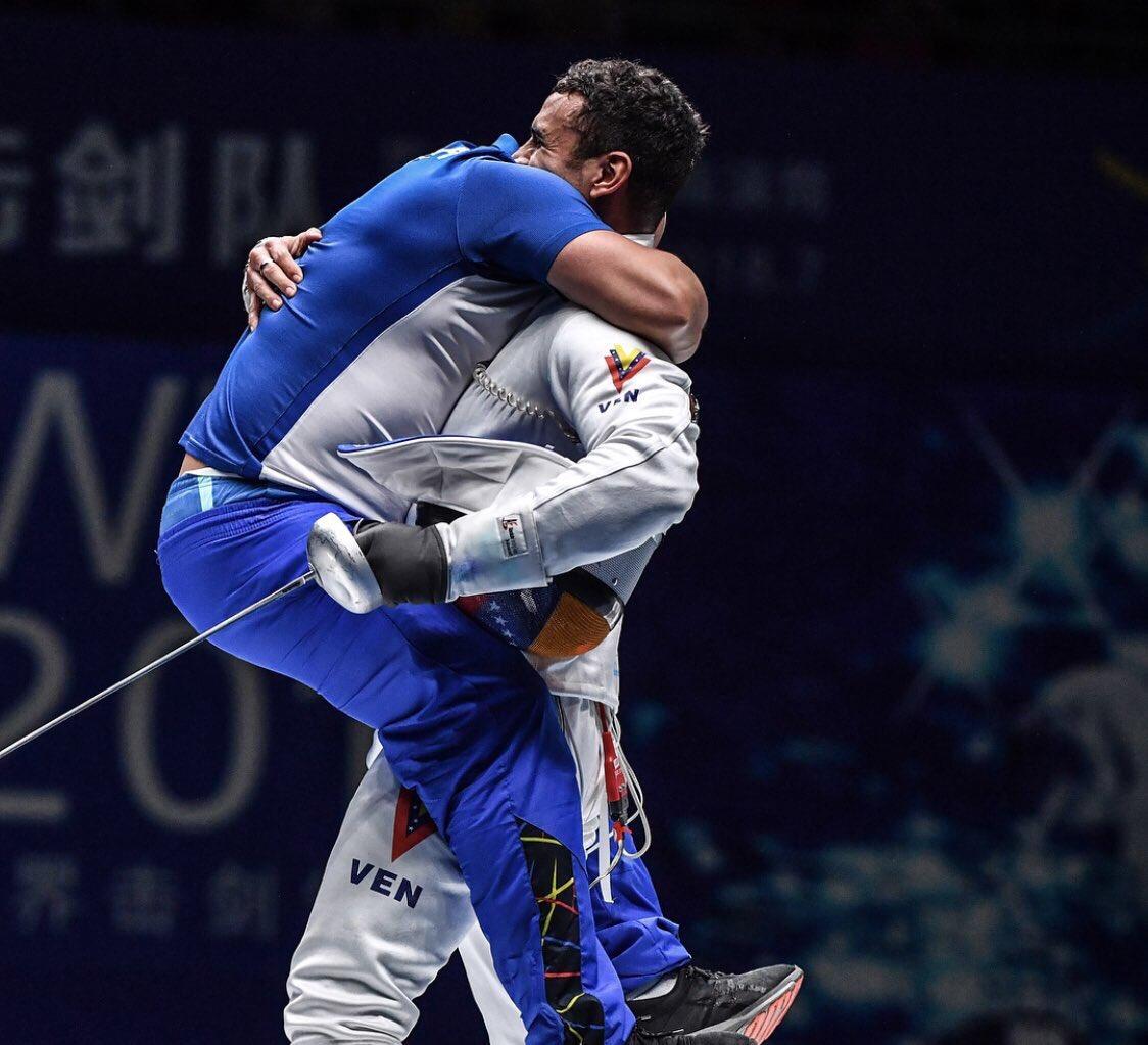 Esgrimista venezolano Rubén Limador ganó la medalla de plata en Mundial