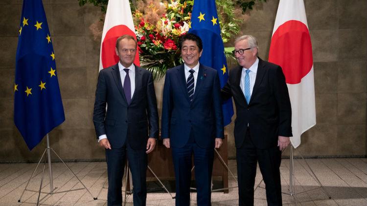 UE y Japón firmaron acuerdo de libre comercio