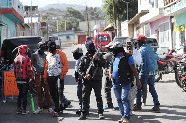 Guatemala: Grupos armados a plena vista y ante un Estado ausente