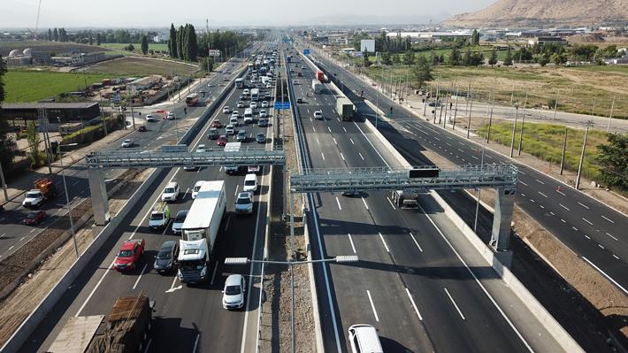 Ministerio de Obras Públicas confirma que este miércoles 1 de agosto se inicia el cobro en la autopista Santiago-Lampa