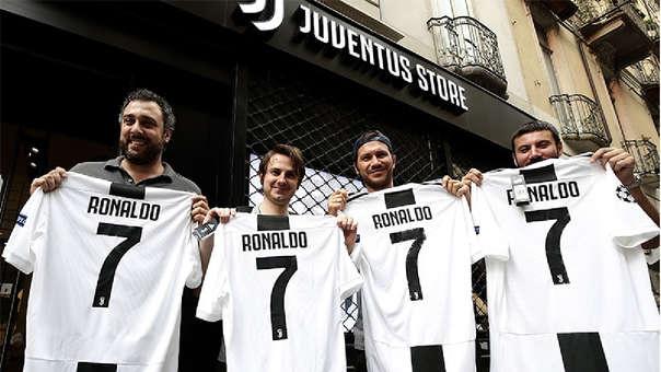 Juventus recaudó en un día la mitad de lo invertido en Cristiano Ronaldo
