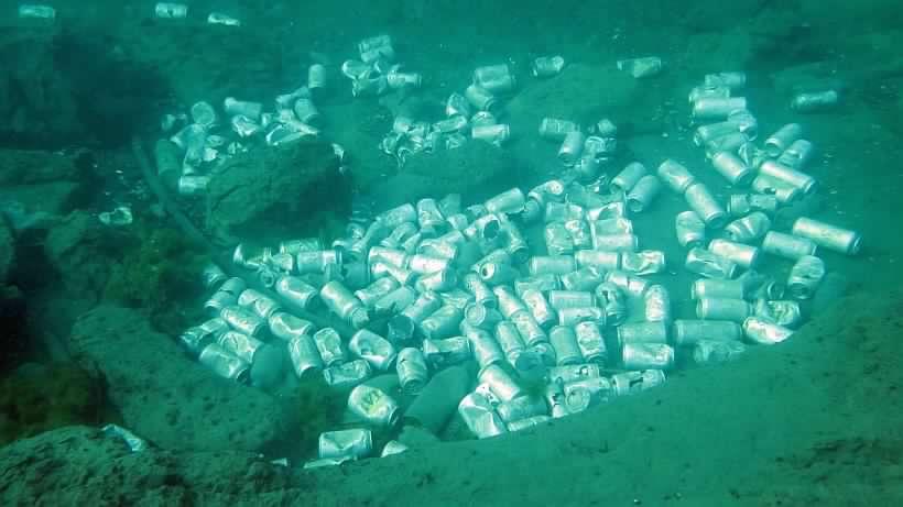Buzos difunden impactantes imágenes de la contaminación en el Lago Llanquihue