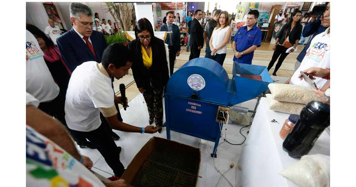 Jóvenes de escuelas técnicas venezolanas mostraron proyectos productivos