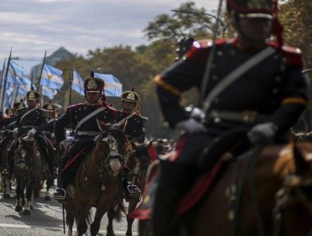 Suspendido desfile de la Independencia en Argentina