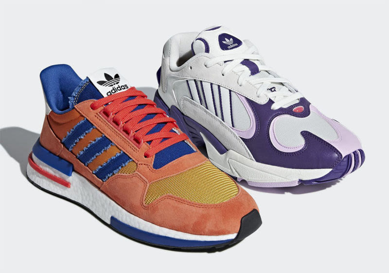 Goku y Freezer ya tienen sus propios zapatos deportivos