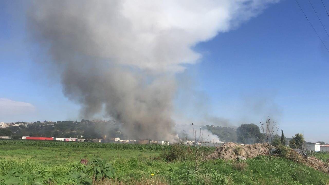 24 muertos dejaron explosiones en talleres de fuegos artificiales de México