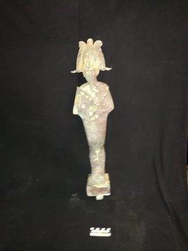 Arqueólogos egipcios descubren estatua del dios «Osiris»