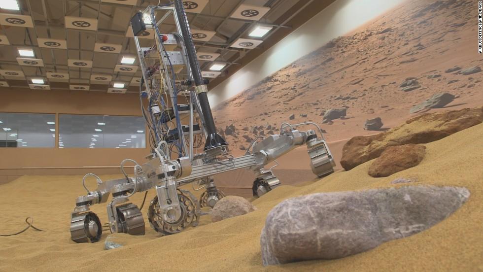 Abren concurso para ponerle nombre a rover marciano europeo
