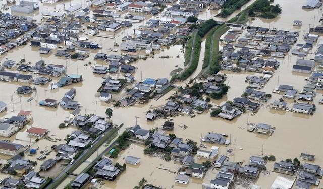 Registran en Japón 104 víctimas por inundaciones en el oeste