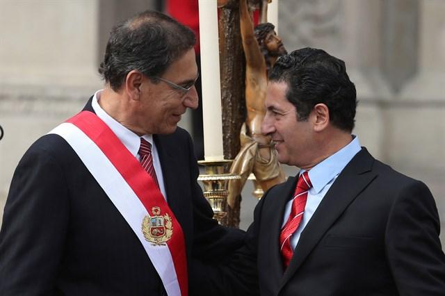 Renuncia el Ministro de Justicia de Perú por caso de corrupción judicial