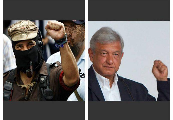 """López Obrador ofrece """"mano abierta"""" a indígenas zapatistas en México"""
