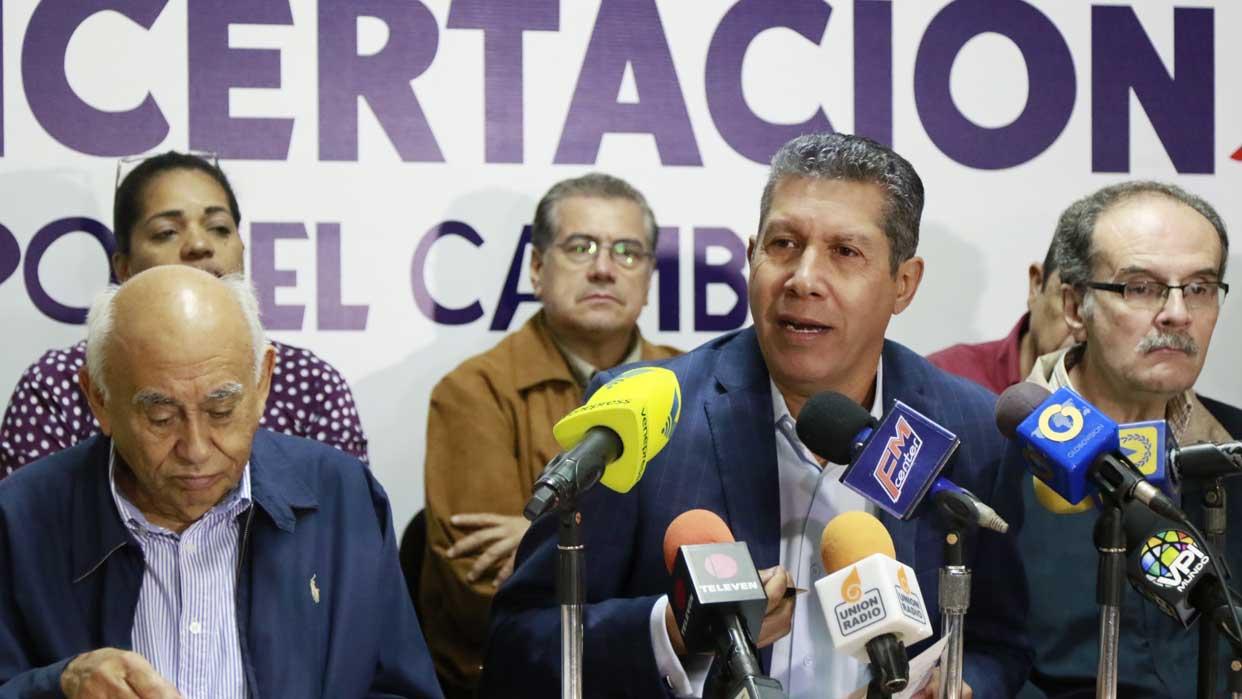 Henri Falcón insiste en enderezar un entuerto: la unidad opositora venezolana