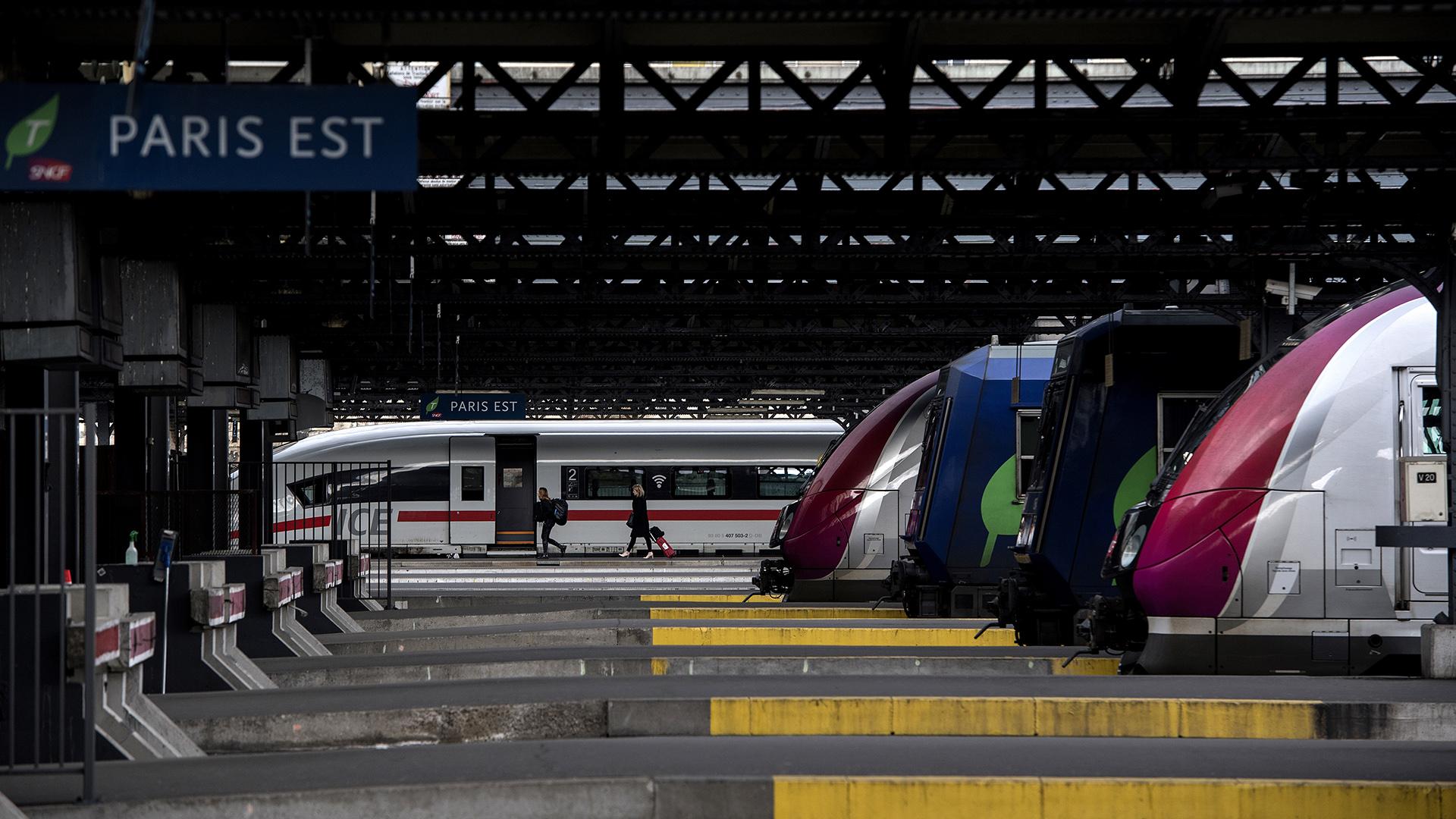 Comienza nueva huelga en Francia en rechazo a la reforma ferroviaria
