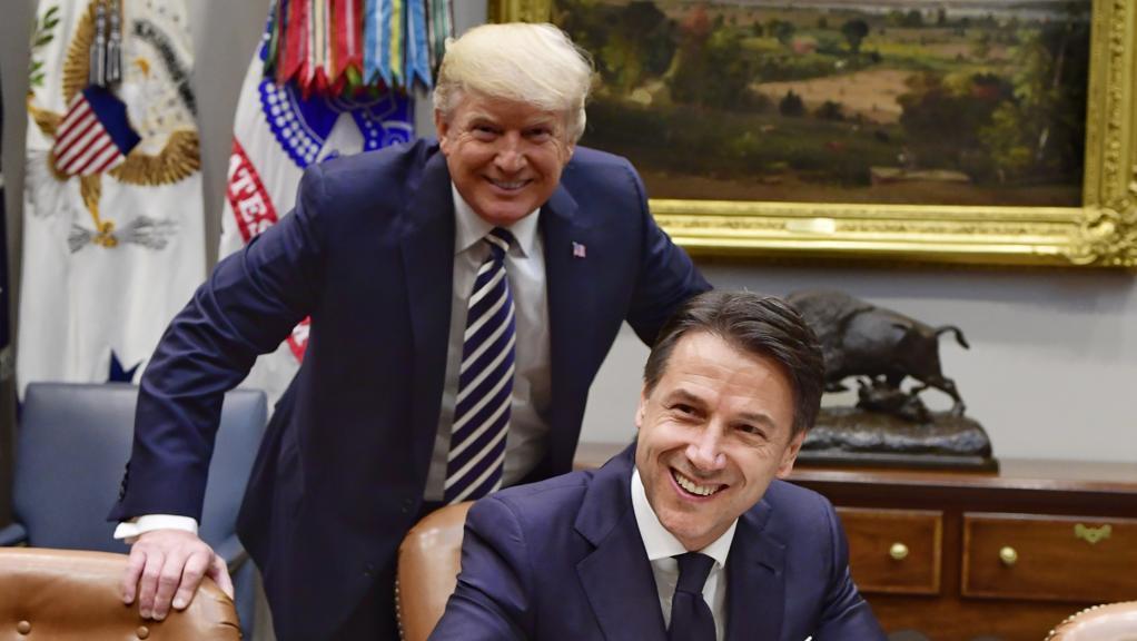 Trump: El Primer Ministro italiano está haciendo un trabajo fantástico