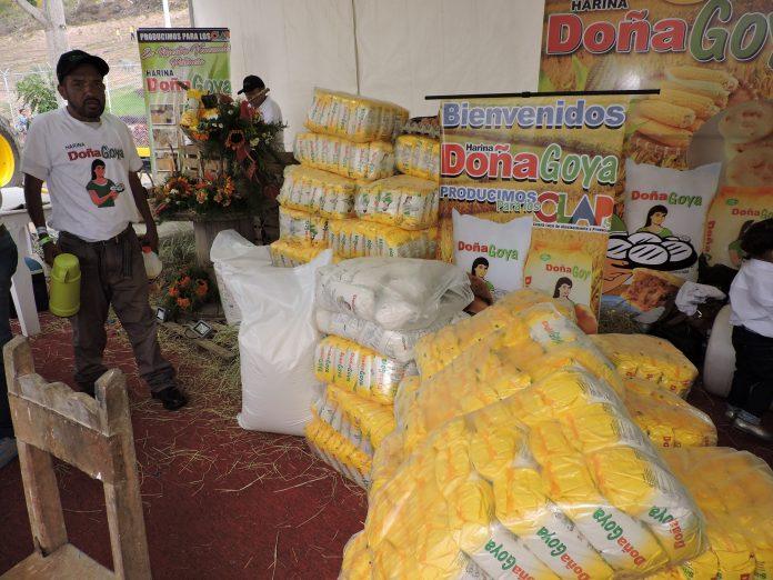 Duplicarán producción de harina de maíz precocida para los CLAP