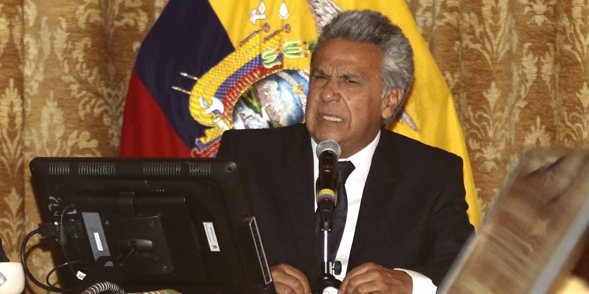 Lenín Moreno critica a Correa por haber construido baños en escuelas y grandes hospitales (+VIDEO)