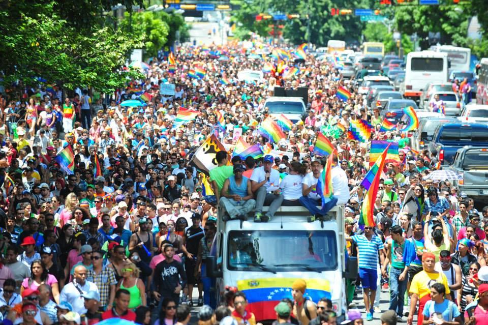 Comunidad sexo diverso venezolana  protagonizó marcha nacional