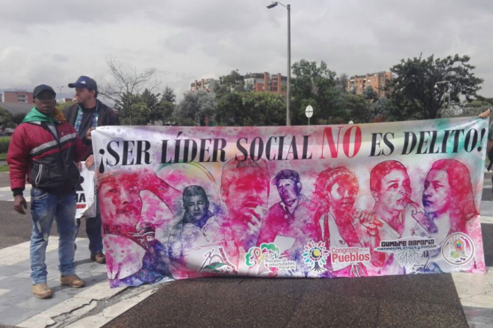 ONU califica de «muy grave» asesinatos de líderes sociales en Colombia