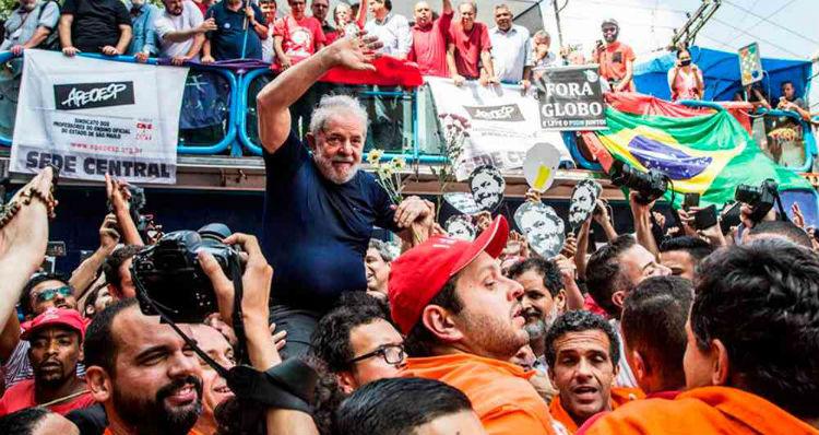 Partido de Lula Da Silva exige que se le permita dar entrevistas desde la cárcel