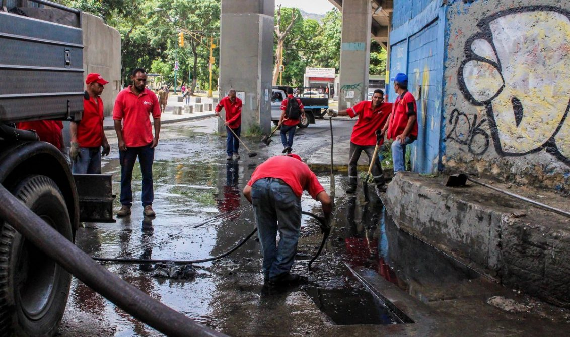 4500 personas desplegadas para embellecer a Caracas