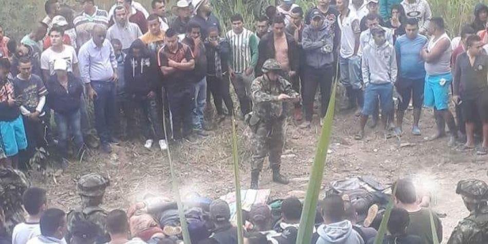 Una masacre en el Cauca mientras Colombia observaba el Mundial