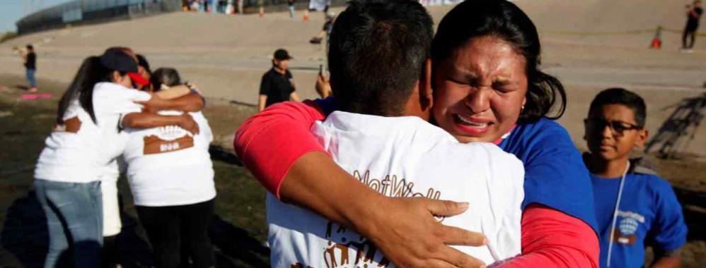 EE. UU. y México acordaron juntar a migrantes ilegales con sus hijos