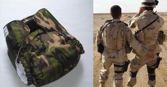 Irán se burla de los pañales que deben usar los soldados estadounidenses