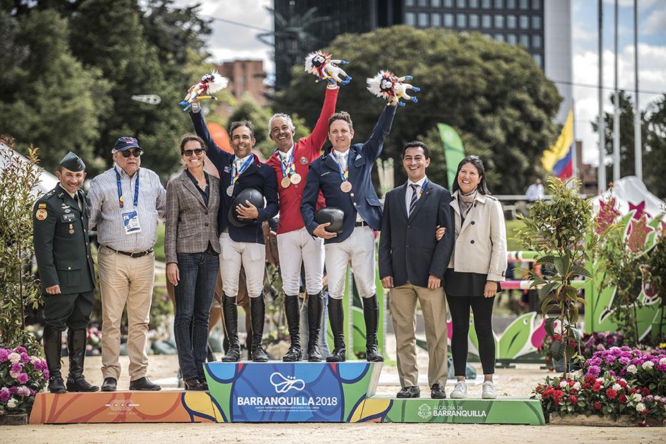 Jinete venezolano Pablo Barrios se alzó con dos preseas de oro al  mostrar su clase
