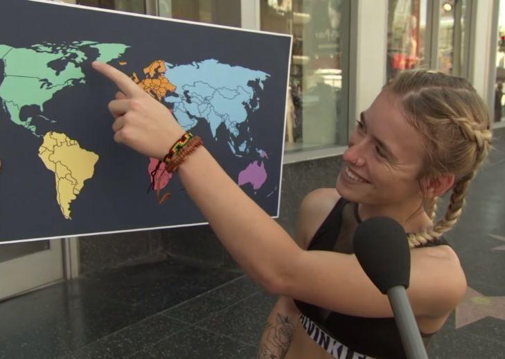 (+Video) Habitantes estadounidenses desconocen ubicación mundial de los países