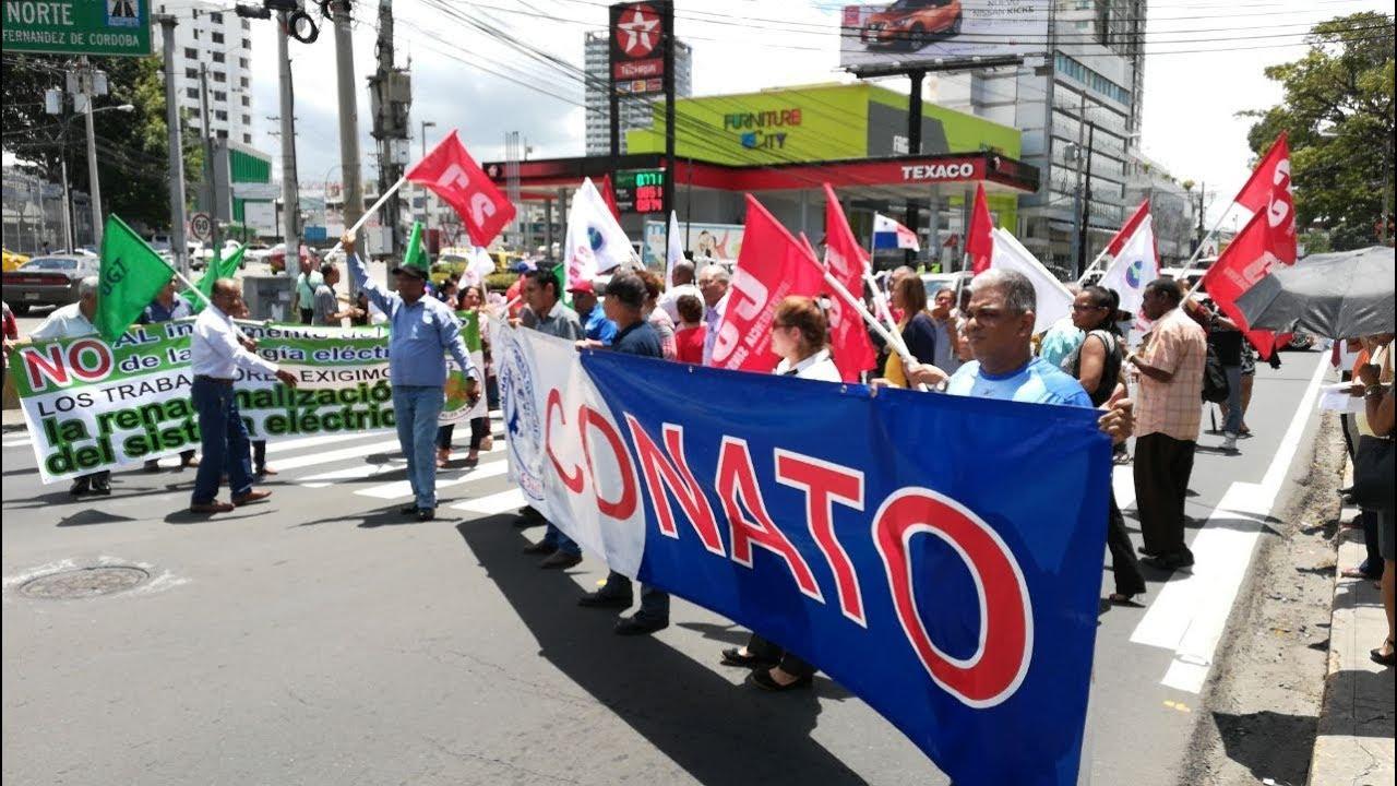 Organizaciones panameñas marcharán contra alza de tarifa eléctrica