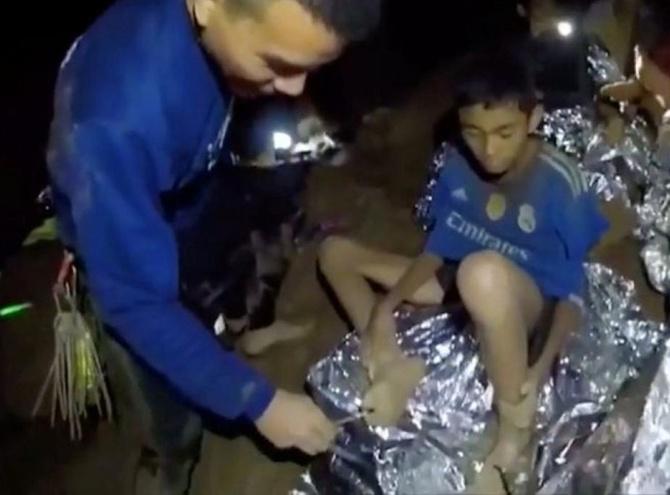 Un magnate dispuso sus tecnologías para rescate de niños tailandeses
