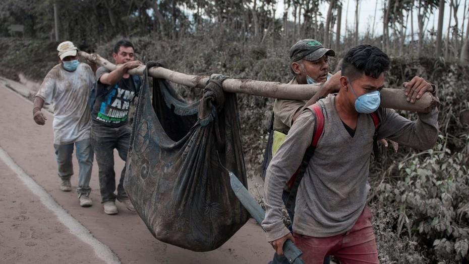 Ascienden a 147 las víctimas del Volcán de Fuego